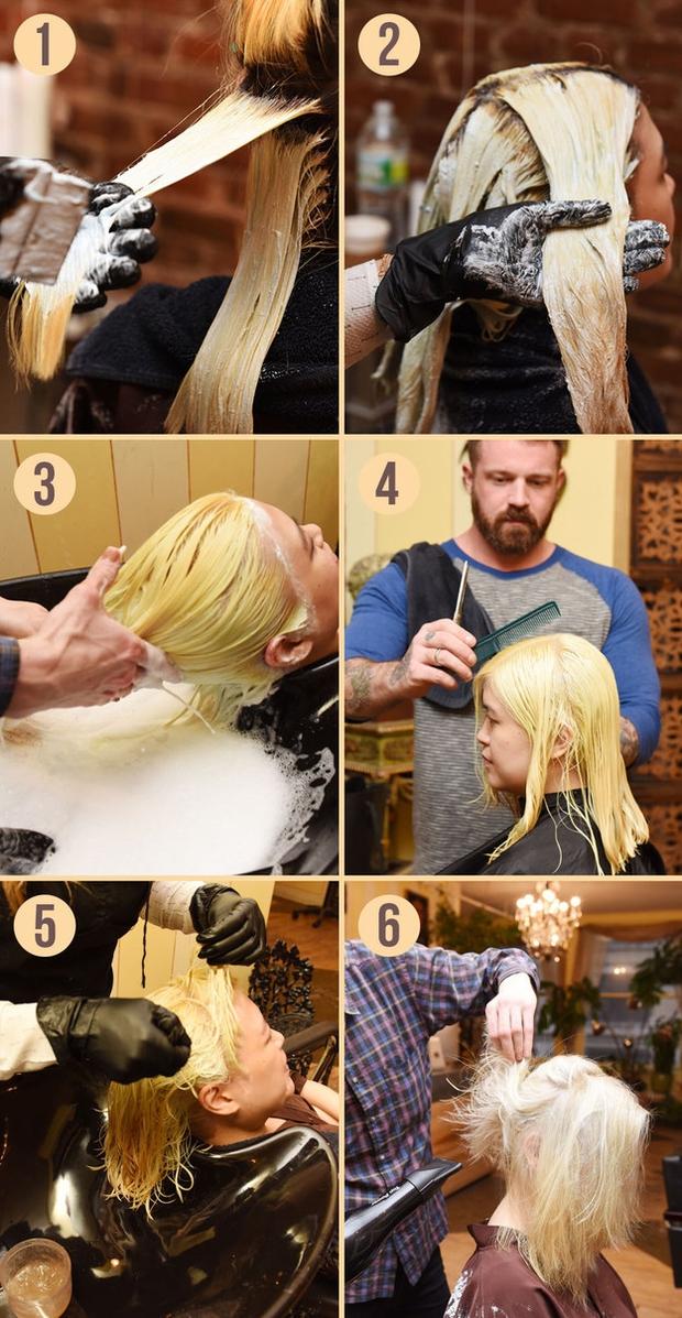 Mốt tẩy tóc và những tai nạn kinh hoàng - Ảnh 4.
