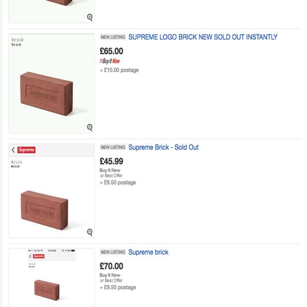 Chuyện thật như đùa: Viên gạch hàng hiệu được các tín đồ thời trang xếp hàng chờ mua, đấu giá eBay lên đến... 20 triệu - Ảnh 4.