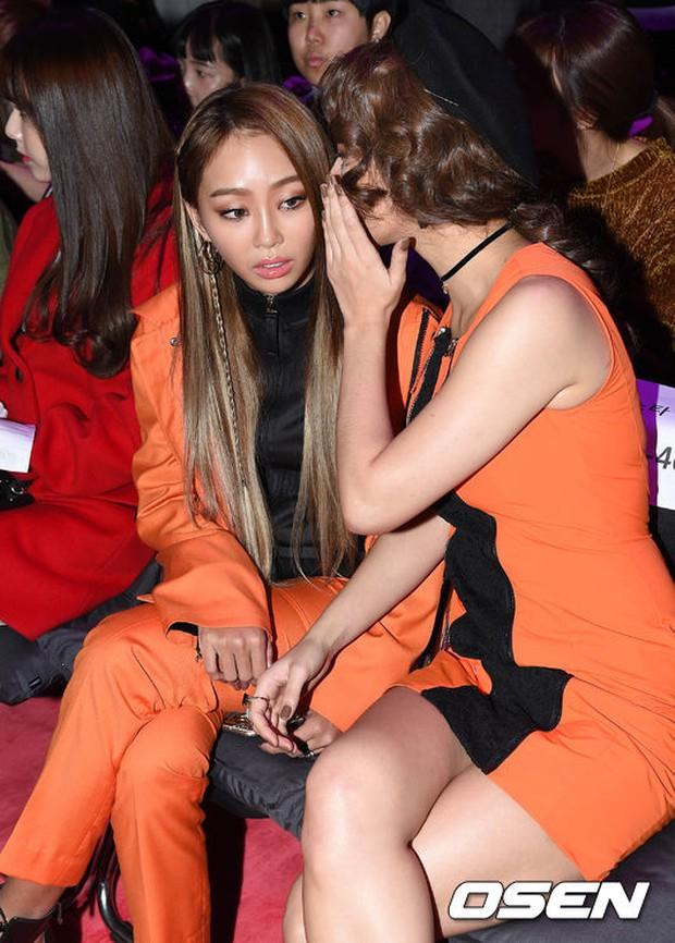 Min khoe đụng độ Red Velvet, SISTAR và Key (SHINee) khi dự show tại Tuần lễ thời trang Seoul - Ảnh 4.