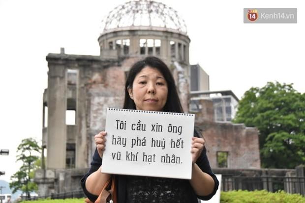 Đây là những điều người dân Hiroshima muốn nói với Tổng thống Obama - Ảnh 6.