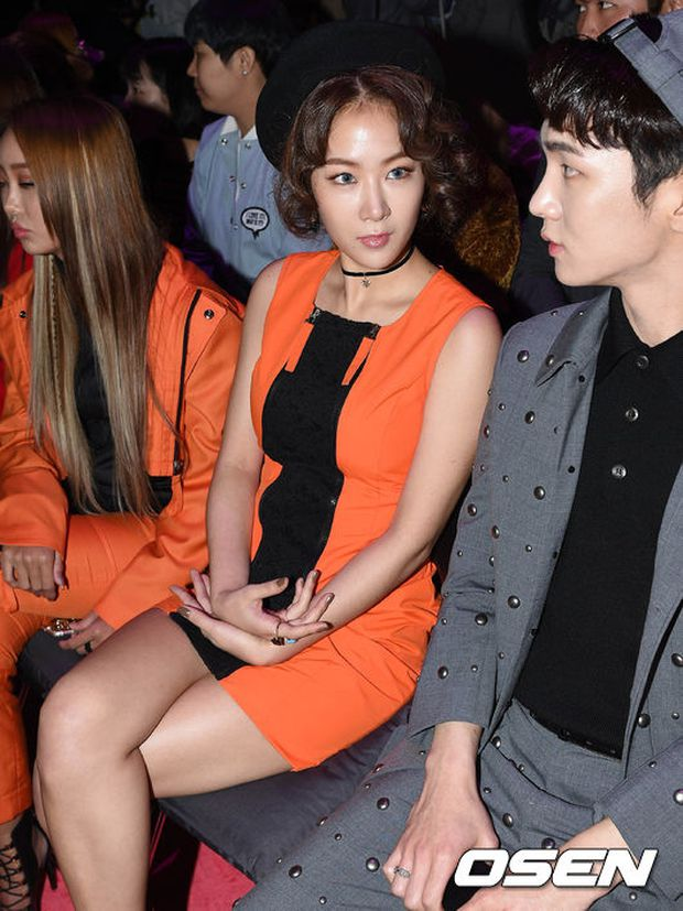 Min khoe đụng độ Red Velvet, SISTAR và Key (SHINee) khi dự show tại Tuần lễ thời trang Seoul - Ảnh 5.
