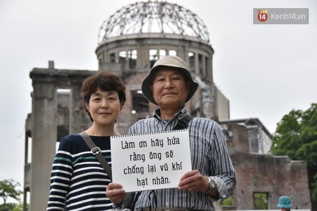 Đây là những điều người dân Hiroshima muốn nói với Tổng thống Obama - Ảnh 7.