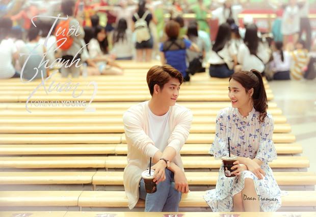 Kang Tae Oh - Nhã Phương ngọt ngào bên nhau trong loạt poster Tuổi Thanh Xuân 2 - Ảnh 2.