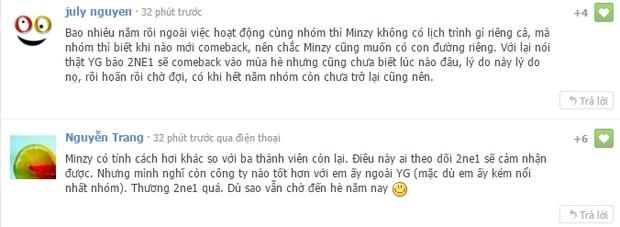 Cộng đồng mạng Việt tiếc nuối, mổ xẻ việc Minzy rời 2NE1 - Ảnh 10.
