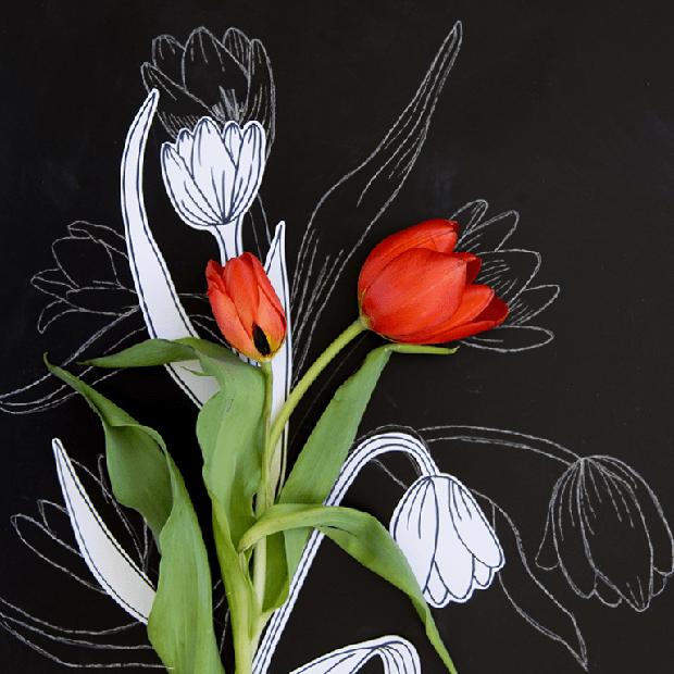 Học vẽ 3 kiểu hoa dễ như đùa mà vẫn đẹp - Ảnh 1.