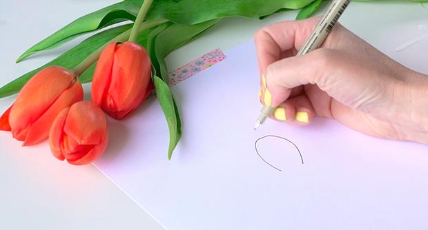 Học vẽ 3 kiểu hoa dễ như đùa mà vẫn đẹp - Ảnh 3.