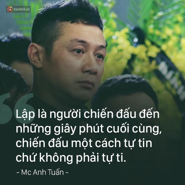 MC Anh Tuấn: Người đàn ông mặc vest đen ngạo nghễ trên chiếc xe phân khối lớn, bật khóc vì chiến hữu của mình - Ảnh 7.