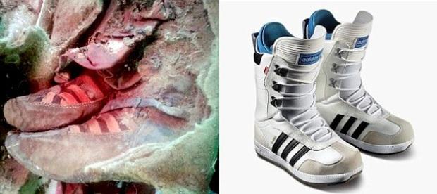 Xác ướp 1.500 tuổi du hành thời gian cùng giày thể thao Adidas? - Ảnh 1.