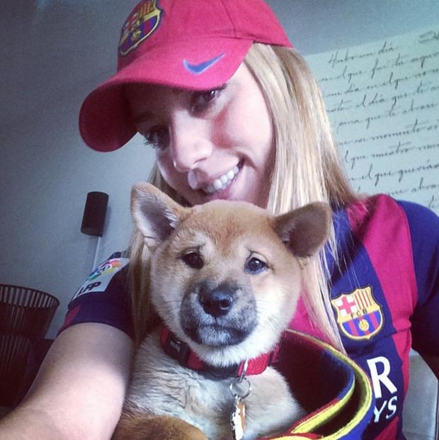 Hi hữu chuyện bạn gái mới của Ronaldo lại đem lòng yêu Messi - Ảnh 5.