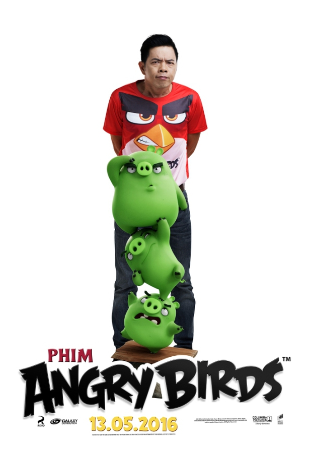 Thái Hòa trở thành Red cáu giận trong The Angry Birds Movie - Ảnh 1.