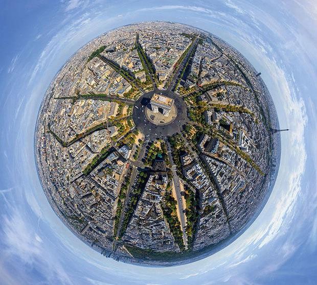 Các thành phố nổi tiếng trông như thế nào khi nhìn từ trên cao? - Ảnh 1.