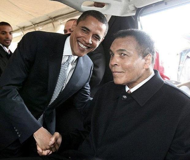 Có một Muhammad Ali đầy mạnh mẽ trong lòng Tổng thống Mỹ Barack Obama - Ảnh 1.