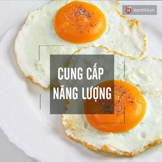 Những lợi ích không thể kể hết của việc ăn trứng vào bữa sáng - Ảnh 1.