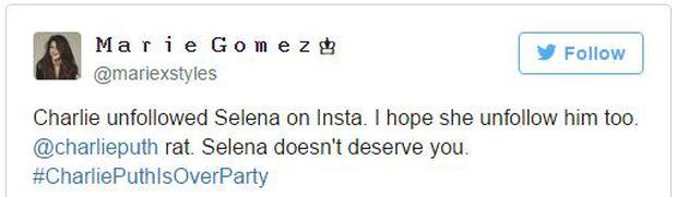Charlie Puth bị dân mạng thế giới tẩy chay vì rủa fan chết và hủy theo dõi Selena - Ảnh 3.