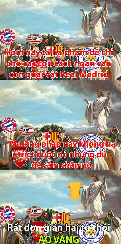 Ảnh chế: Học Barca giả vờ thua, Man City suýt chút nữa ăn gạch - Ảnh 1.