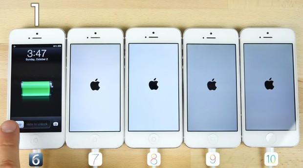 Đại chiến 5 đời iOS: mới chưa chắc đã nhanh! - Ảnh 3.