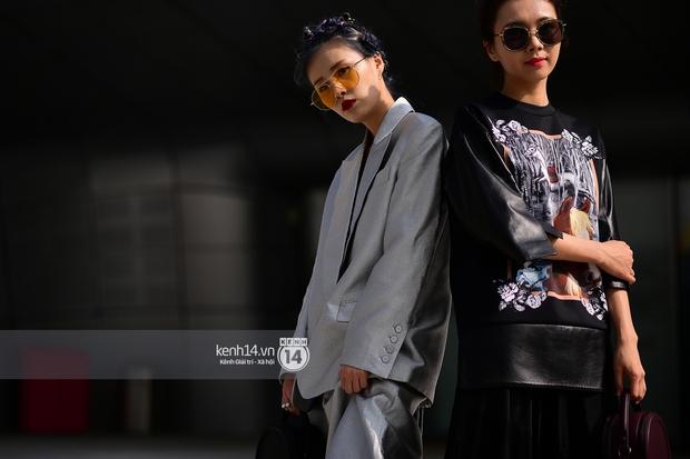 Hoàng Ku, Châu Bùi, Min xuất hiện cực nét cùng fashionista Hàn tại Tuần lễ thời trang ngày 3 - Ảnh 1.