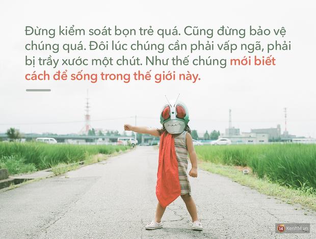 Người Nhật dạy trẻ con: Chúng cần phải bị trầy xước, để biết cách sống trong thế giới này! - Ảnh 1.