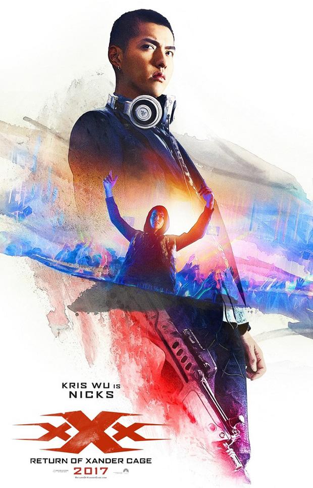 DJ Ngô Diệc Phàm xuất hiện cực ngầu cùng Vin Diesel và Chân Tử Đan trong xXx 3 - Ảnh 1.