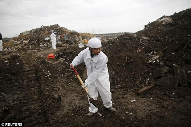 5 năm sau thảm họa Fukushima Nhật Bản, người cha vẫn mòn mỏi đi tìm xác con - Ảnh 1.