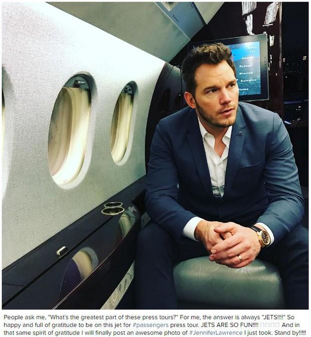 Tình tứ trong Passengers, nhưng Chris Pratt - Jennifer Lawrence ngoài đời lại troll nhau thật bá đạo! - Ảnh 8.