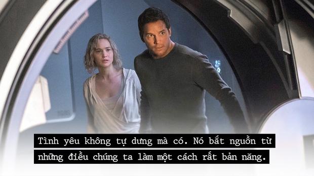 Có một loại tình yêu trong Passengers, khi người ta tìm thấy nhau giữa nơi tuyệt vọng - Ảnh 3.