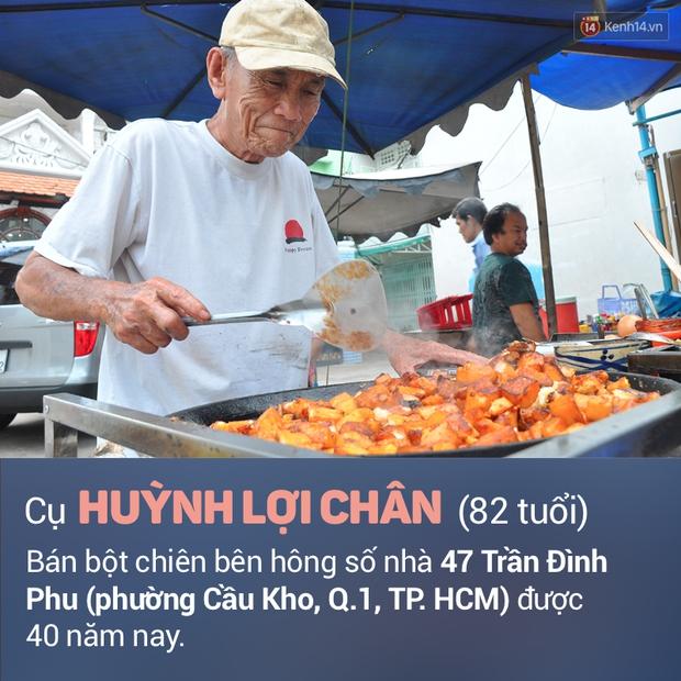 Ghi nhớ những địa chỉ ăn vặt này để ủng hộ các cụ già vẫn phải mưu sinh ở Sài Gòn - Ảnh 1.