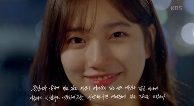 """""""Yêu Không Kiểm Soát"""" tập cuối: Kim Woo Bin ngủ thiếp mãi mãi trên vai Suzy - Ảnh 15."""