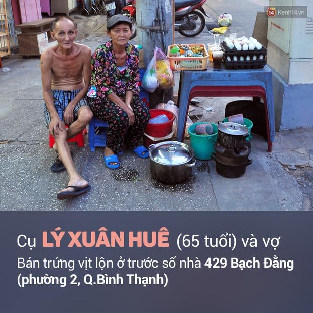 Ghi nhớ những địa chỉ ăn vặt này để ủng hộ các cụ già vẫn phải mưu sinh ở Sài Gòn - Ảnh 11.