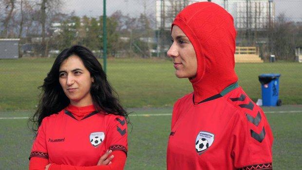 Mẫu áo đấu có một không hai của đội tuyển nữ Afghanistan - Ảnh 1.
