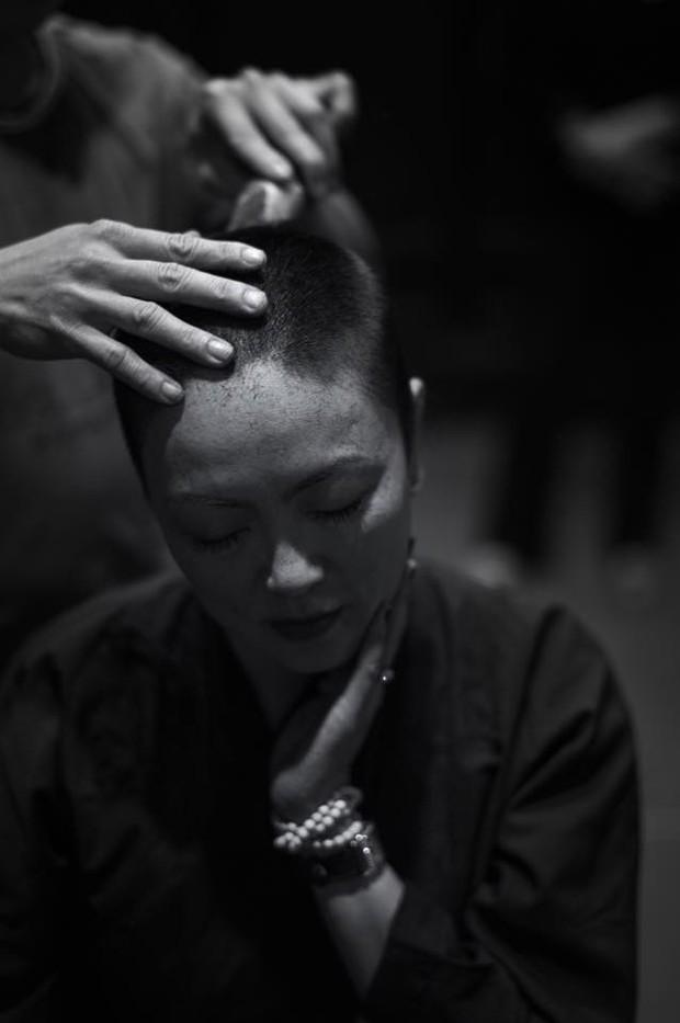 Con gái GS Văn Như Cương xuống tóc, cảm tạ vì bố qua cơn ốm nặng - Ảnh 5.