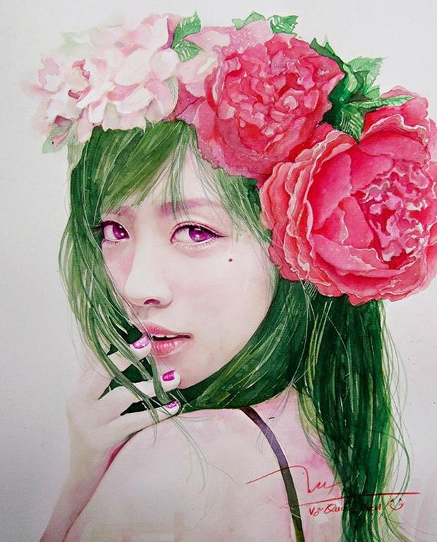 9X chuyên vẽ chân dung sao Việt được vinh danh trên tạp chí nghệ thuật nổi tiếng hàng đầu của Mỹ - Ảnh 14.