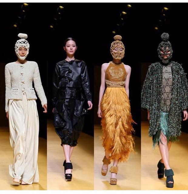 NTK Công Trí mang hồn lúa Việt đến Tokyo Fashion Week - Ảnh 2.