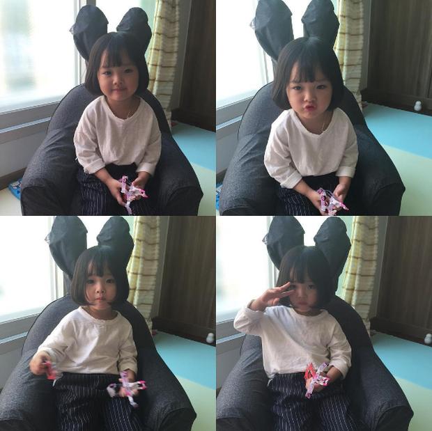 Cô nhóc Hàn Quốc đáng yêu tới nỗi xem ảnh mà chỉ muốn lao ngay vào... cắn má - Ảnh 3.