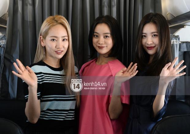 Wonder Girls bay từ Hàn Quốc sang Hà Nội rồi mới vào TP.HCM - Ảnh 3.