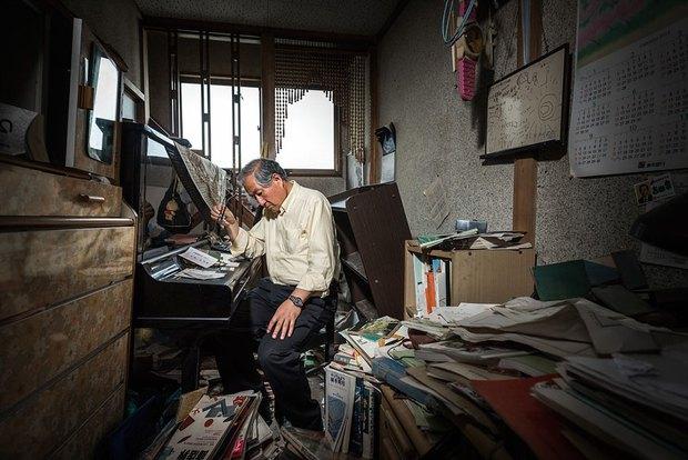 Nhật Bản: Người dân Fukushima trở lại thành phố ma trong loạt hình đầy ám ảnh - Ảnh 12.