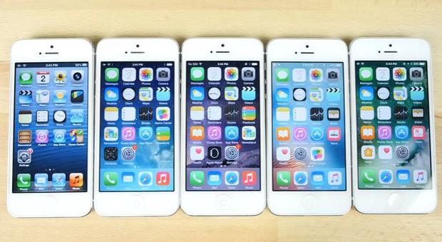 Đại chiến 5 đời iOS: mới chưa chắc đã nhanh! - Ảnh 1.