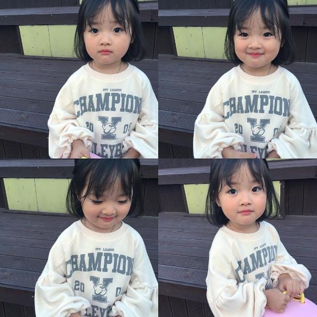 Cô nhóc Hàn Quốc đáng yêu tới nỗi xem ảnh mà chỉ muốn lao ngay vào... cắn má - Ảnh 7.