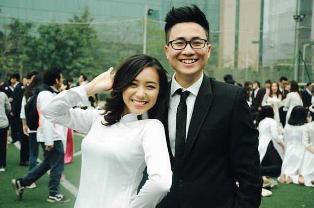 Phương Khanh: Nữ sinh trường Ams siêu nổi bật trong Ngày hội áo dài vì cười quá xinh - Ảnh 2.