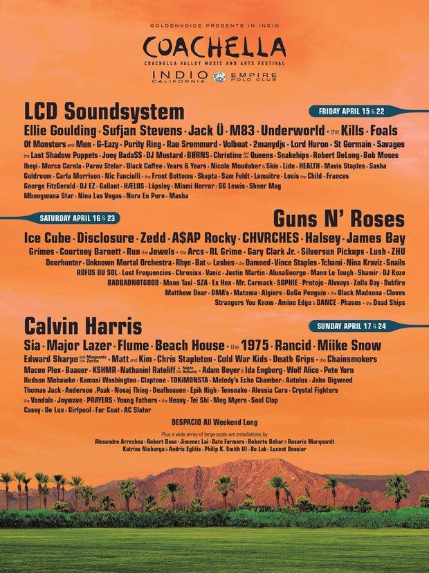 Calvin Harris là 1 trong 3 nghệ sĩ tiêu điểm của Coachella 2016 - Ảnh 1.
