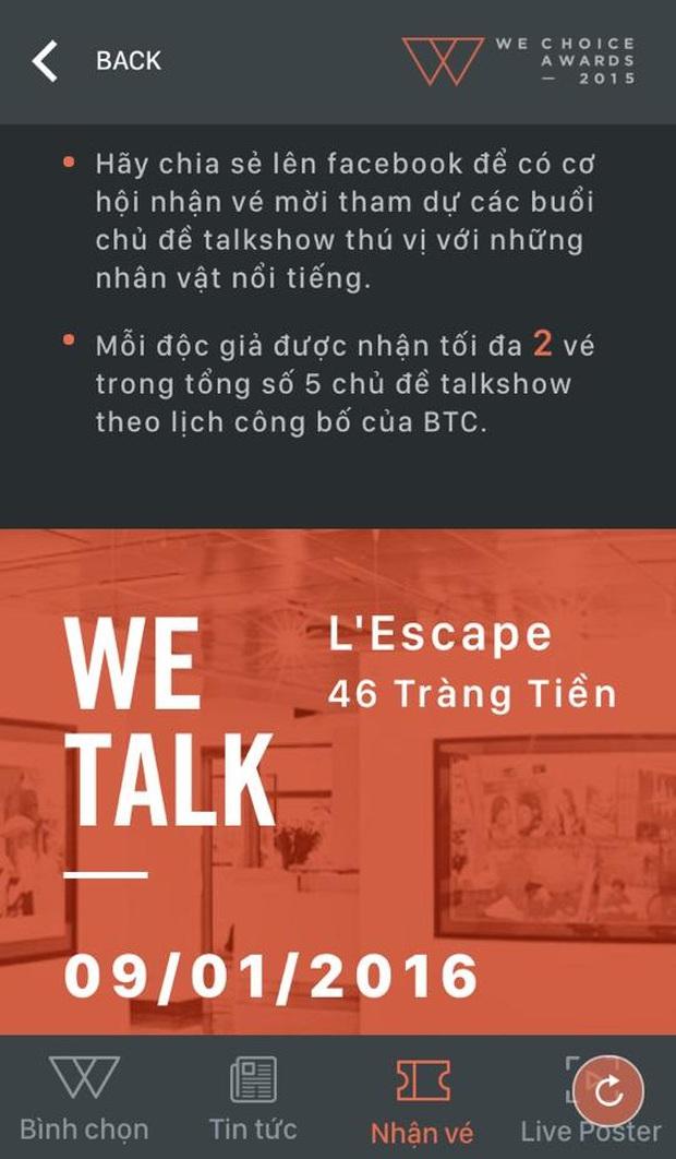 WeTalk: Làm thế nào để nhận vé tham gia cuộc trò chuyện truyền cảm hứng với các diễn giả? - Ảnh 4.