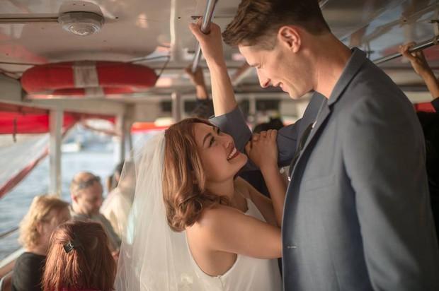Nhờ cực kì chênh lệch chiều cao nên bộ ảnh của cặp đôi này trở nên siêu hot! - Ảnh 20.