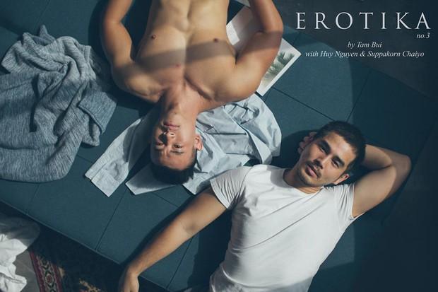 Bộ ảnh tình yêu giản dị mà ngọt ngào của cặp đôi đồng tính đẹp như soái ca - Ảnh 1.