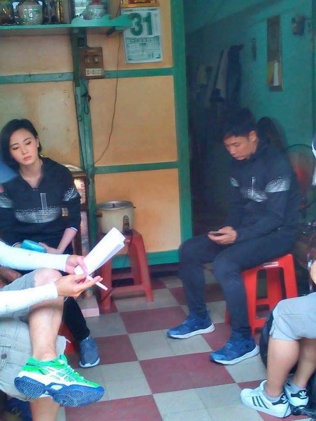 Sao TVB Quách Tấn An, Huỳnh Đức Bân, Chu Thần Lệ được fan bắt gặp quay phim tại Chợ Lớn - Ảnh 14.