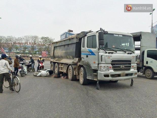Hà Nội: Một phụ nữ bị cuốn vào gầm xe tải, tử vong tại chỗ - Ảnh 2.