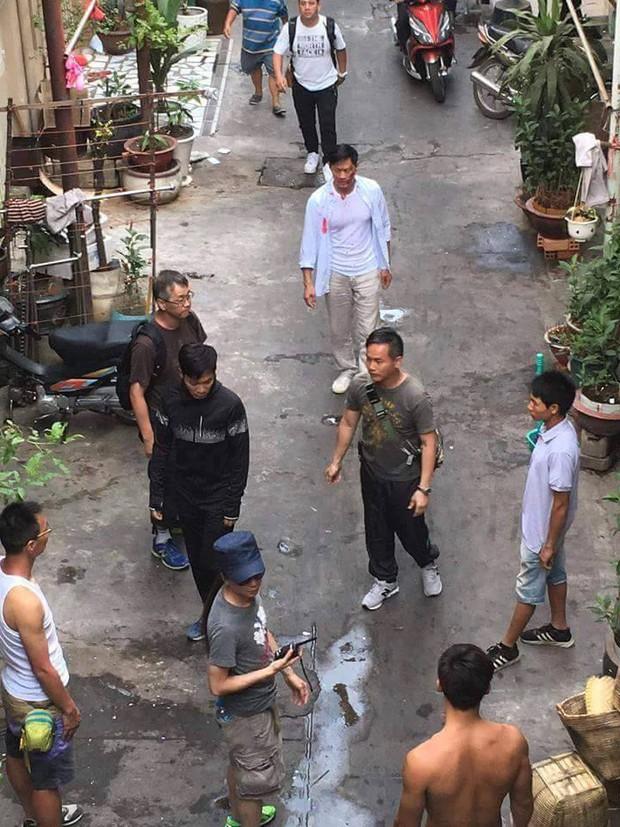 Sao TVB Quách Tấn An, Huỳnh Đức Bân, Chu Thần Lệ được fan bắt gặp quay phim tại Chợ Lớn - Ảnh 4.