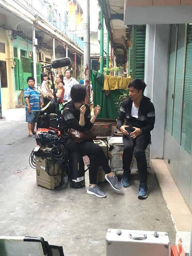Sao TVB Quách Tấn An, Huỳnh Đức Bân, Chu Thần Lệ được fan bắt gặp quay phim tại Chợ Lớn - Ảnh 11.