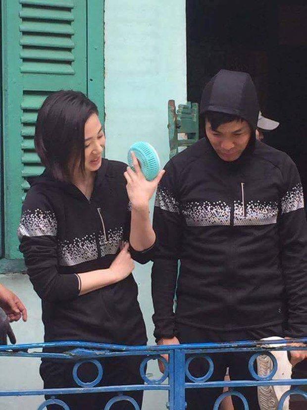 Sao TVB Quách Tấn An, Huỳnh Đức Bân, Chu Thần Lệ được fan bắt gặp quay phim tại Chợ Lớn - Ảnh 13.