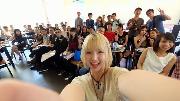 Hot girl Nene đình đám của Thái khoe ảnh tung tăng du hí ở Sài Gòn - Ảnh 8.