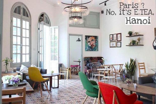 Hà Nội: Muốn chụp ảnh nền gạch hoa vintage? Cứ đến những quán cafe này - Ảnh 15.